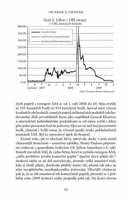 Náhled Posuny a otřesy: Ponaučení z finanční krize