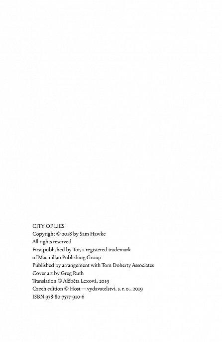 Náhled Město lží