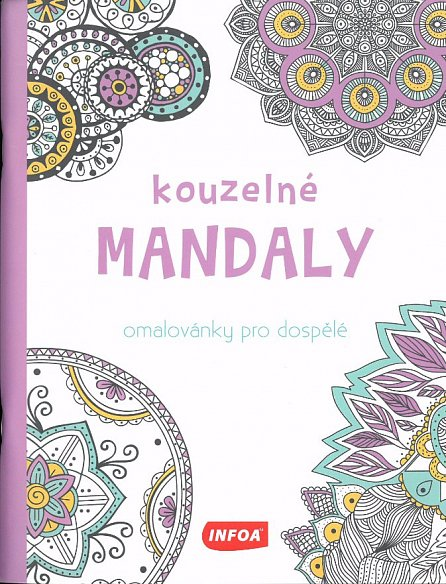 Náhled Kouzelné mandaly - Omalovánky pro dospělé
