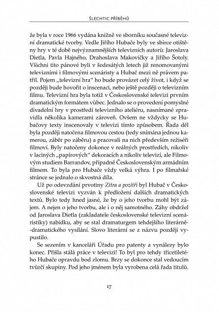 Náhled Jiří Hubač: Šlechtic příběhů
