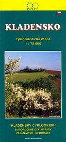 Kladensko 1:75 000 cykloturistická mapa