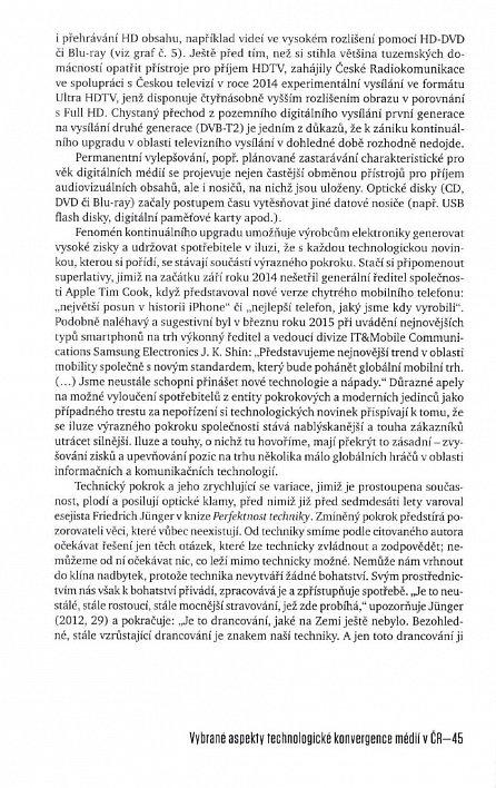 Náhled Média v tekutých časech - Konvergence audiovizuálních médií v ČR