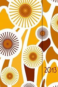 Diář 2013 - magnet. Orange 10,5 x 15,8 cm - CZ