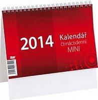 Mini 14denní 2014 - stolní kalendář