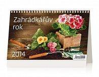 Kalendář 2014 - Zahrádkářův rok - stolní