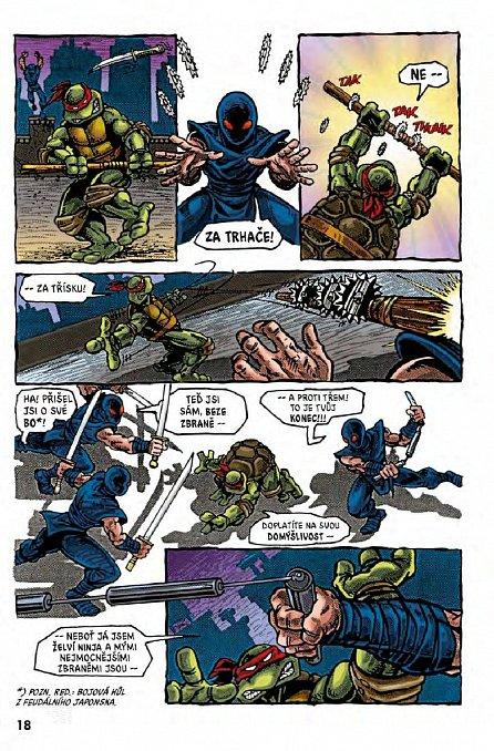 Náhled Želvy Ninja - Menu číslo 2