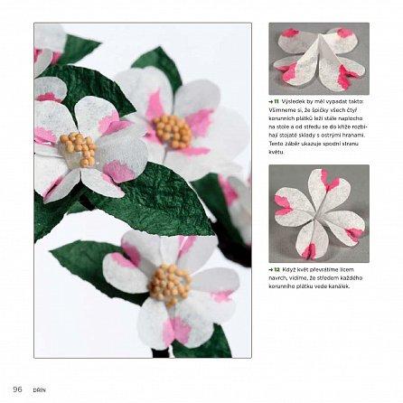 Náhled Papírové květiny - 25 překrásných návrhů pro slavnostní příležitosti a zkrášlení interiéru