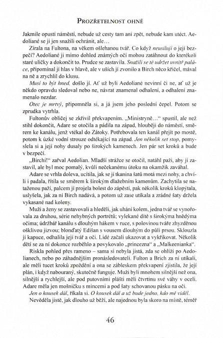Náhled Kronika Netesaného trůnu II. - Prozřetelnost ohně