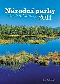 Kalendář 2011 - Národní parky Čech a Moravy (33x46) nástěnný