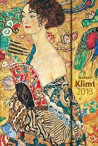 Diář 2013 - magnet. Gustav Klimt 10,5 x 15,8 cm - CZ