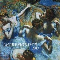 Impresionisté - nástěnný kalendář 2013