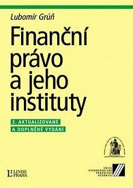Finanční právo a jeho instituty