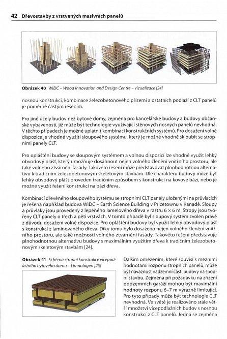 Náhled Dřevostavby z vrstvených masivních panelů - Technologie CLT