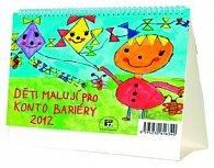 Kalendář stolní 2012 - MiniMax - Děti malují pro Konto Bariéry
