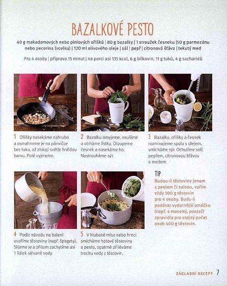 Náhled 1 těstoviny 50 omáček - Lehké jídlo na každý den
