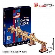 Puzzle 3D Brooklin Bridge - 64 dílků