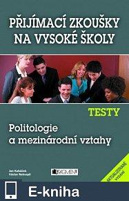 Testy – Politologie a mezinárodní vztahy (E-KNIHA)