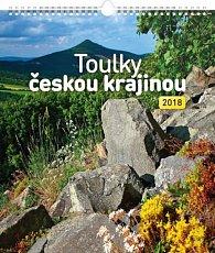 Kalendář nástěnný 2018 - Toulky českou krajinou