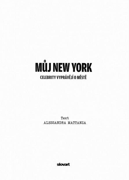 Náhled Můj New York - Město očima známých osobností