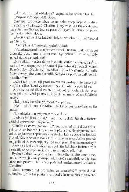Náhled Brněnské Židovky