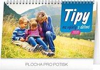 Kalendář stolní 2020 - Tipy na výlety s dětmi, 23,1 × 14,5 cm