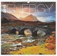 Kalendář 2015 - Energie - nástěnný s prodlouženými zády