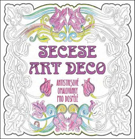 Náhled SECESE ARTDECO - Antistresové omalovánky pro dospělé