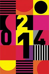 Diář 2014 - Vzor - Týdenní magnetický (ČES, SLO, MAĎ, POL, RUS, ANG)