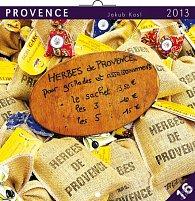 Kalendář 2013 poznámkový - Provence Jakub Kasl, 30 x 60 cm