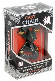 Hlavolam Hanayama Silver - Chain