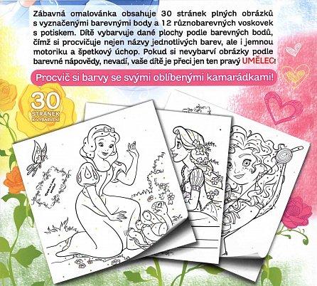 Náhled Princezny - Malování podle barev