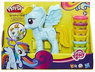 Play-Doh MLP rainbow dash stylistický salón