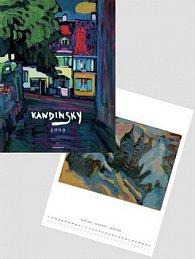 Wassily Kandinsky 2009 - nástěnný kalendář