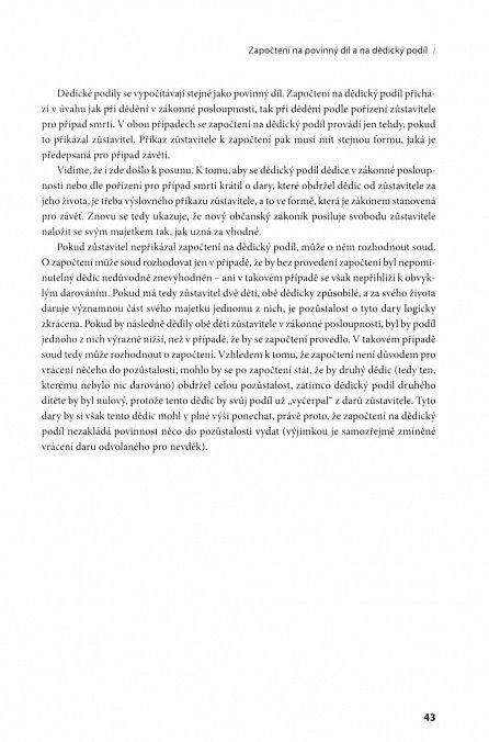Náhled Nový občanský zákoník - Dědické právo