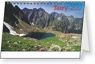 Tatry - stolní kalendář 2012