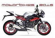 Kalendář nástěnný 2016 - Motorbikes