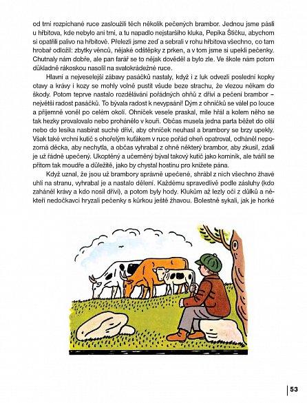Náhled Český rok Josefa Lady - Obrázky a vzpomínky Josefa Lady