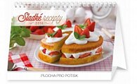 Kalendář stolní 2016 - Sladké recepty,  23,1 x 14,5 cm