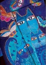 Diář Blue Cats & Butterflies 2017 VSO