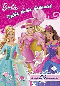 Barbie Veľká kniha hádaniek so samolepkami