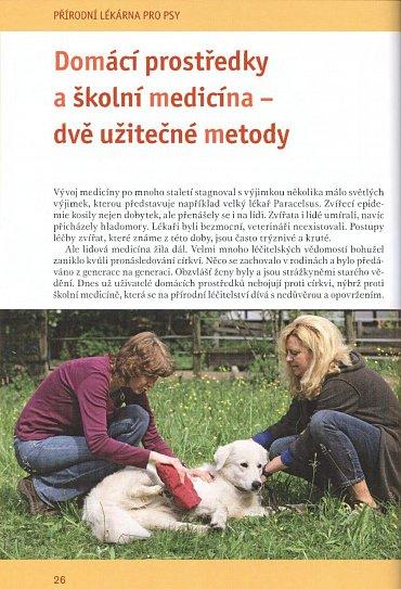 Náhled Přírodní lékárna pro psy