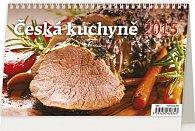 Kalendář stolní 2015 - Česká kuchyně