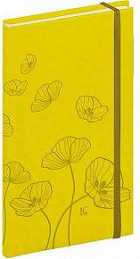 Diář 2016 - Tucson-Vivella speciál - Kapesní, žlutá,  9 x 15,5 cm
