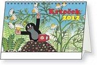 Kalendář stolní  2012 - Krteček, 23,1 x 14,5 cm