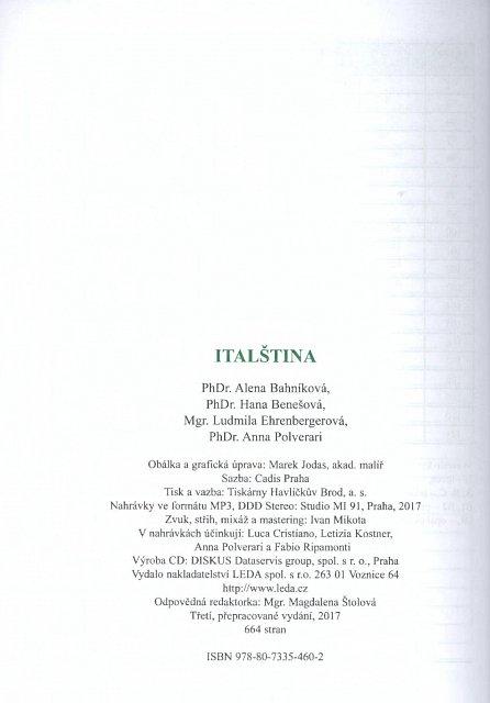 Náhled Italština + klíč + CDmp3