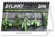 Kalendář stolní 2016 - Bylinky - rady a tipy,  23,1 x 14,5 cm