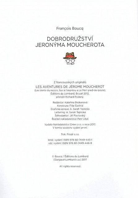 Náhled Dobrodružství Jeronýma Moucherota