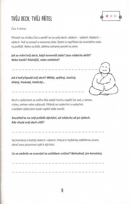 Náhled Jak meditovat? - Můj pracovní sešit pro lepší pohodu a klid