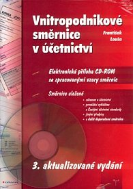 Vnitropodnikové směrnice v účetnictví + CD ROM