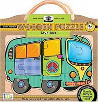 Love Bus Wooden Puzzle